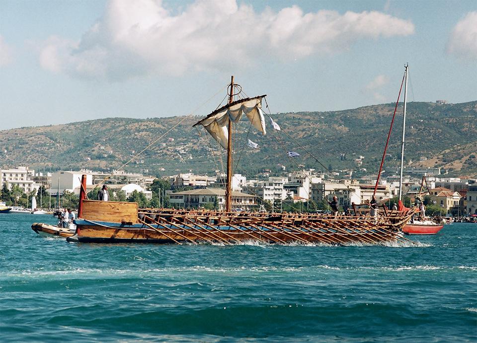 argo ship volos pelion view